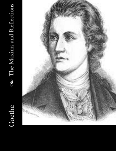 The Maxims and Reflections by Goethe.jpg