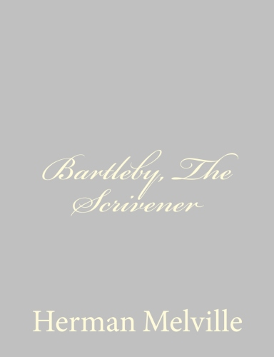 Bartleby, The Scrivener by Herman Melville.jpg