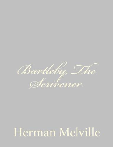 Bartleby, The Scrivener by Herman Melville.jpg